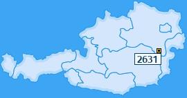 PLZ 2631 Österreich