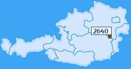 PLZ 2640 Österreich