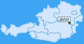 PLZ 2650 Österreich