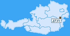 PLZ 2731 Österreich