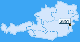 PLZ 2851 Österreich