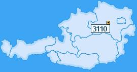 PLZ 3110 Österreich