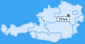 PLZ 3144 Österreich