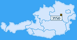 PLZ 3150 Österreich