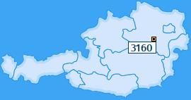 PLZ 3160 Österreich