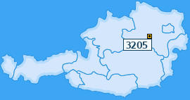 PLZ 3205 Österreich