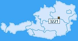 PLZ 3221 Österreich