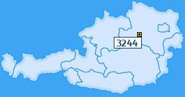 PLZ 3244 Österreich
