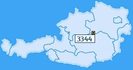 PLZ 3344 Österreich