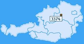 PLZ 3374 Österreich