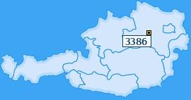 PLZ 3386 Österreich