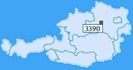 PLZ 3390 Österreich