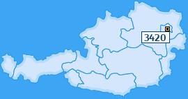 PLZ 3420 Österreich