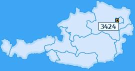 PLZ 3424 Österreich