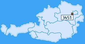 PLZ 3451 Österreich