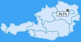 PLZ 3474 Österreich