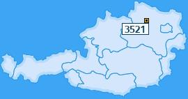 PLZ 3521 Österreich