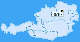 PLZ 3610 Österreich