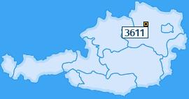 PLZ 3611 Österreich