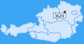 PLZ 3620 Österreich
