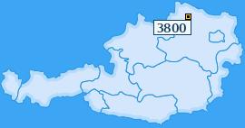PLZ 3800 Österreich