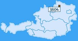 PLZ 3804 Österreich