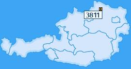 PLZ 3811 Österreich