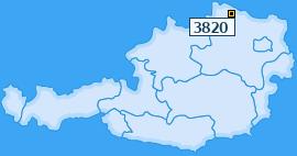PLZ 3820 Österreich