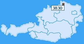 PLZ 3830 Österreich