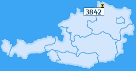 PLZ 3842 Österreich