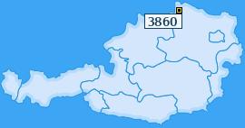 PLZ 3860 Österreich