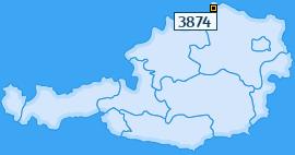 PLZ 3874 Österreich