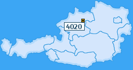 PLZ 4020 Österreich