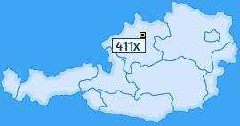PLZ 411 Österreich