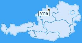 PLZ 4116 Österreich