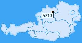 PLZ 4210 Österreich