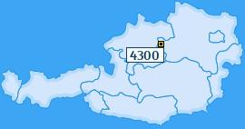 PLZ 4300 Österreich