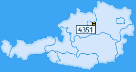 PLZ 4351 Österreich