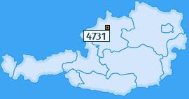 PLZ 4731 Österreich