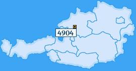 PLZ 4904 Österreich