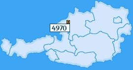 PLZ 4970 Österreich