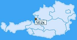 PLZ 502 Österreich
