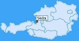 PLZ 540 Österreich