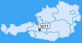 PLZ 5611 Österreich