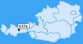 PLZ 617 Österreich