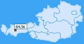 PLZ 643 Österreich