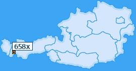 PLZ 658 Österreich