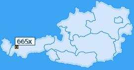 PLZ 665 Österreich