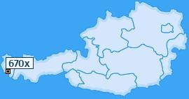 PLZ 670 Österreich
