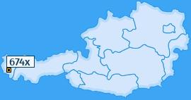 PLZ 674 Österreich